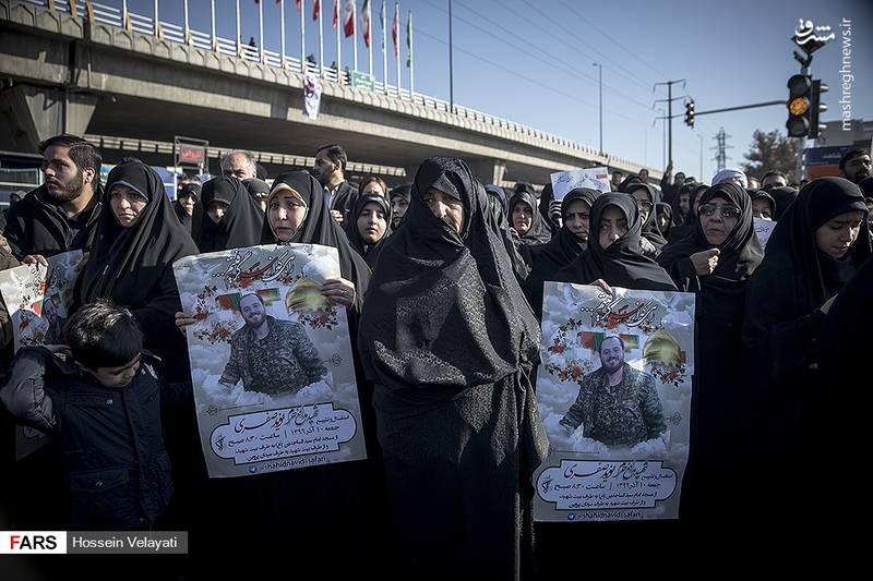 2123952 - مراسم تشییع شهید مدافع حرم نوید صفری