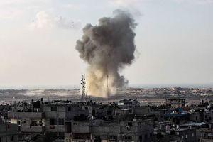 عکس/ انهدام پایگاه داعش توسط ارتش مصر