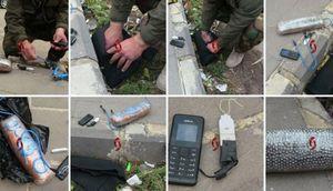شکست دو حمله انتحاری در حمص سوریه+تصاویر