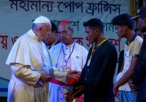 پاپ سرانجام از روهینگیاییها حمایت کرد