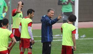 کی روش تمرین تیم ملی فوتبال