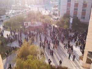 عکس/ دانشگاه آزاد ارومیه پس از زلزله