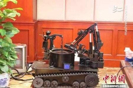 طراحی ربات های خنثی کننده مواد منفجره +عکس