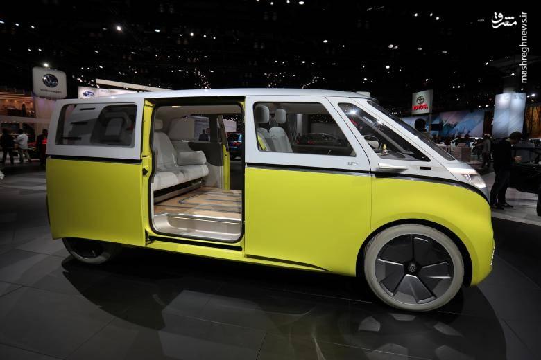 عکس/ نمایشگاه خودرو در لسآنجلس