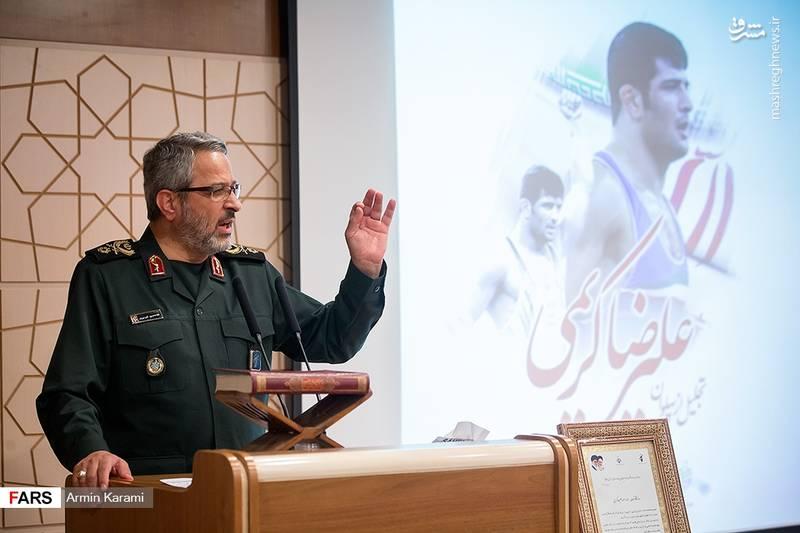 2125124 - تجلیل از علیرضا کریمی قهرمان کشتی کشور