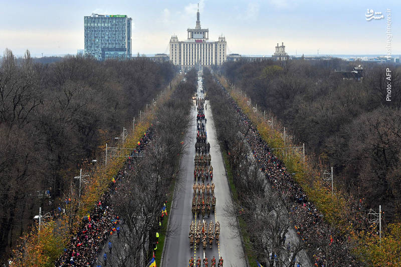 بزرگداشت روز ملی رومانی در بخارست