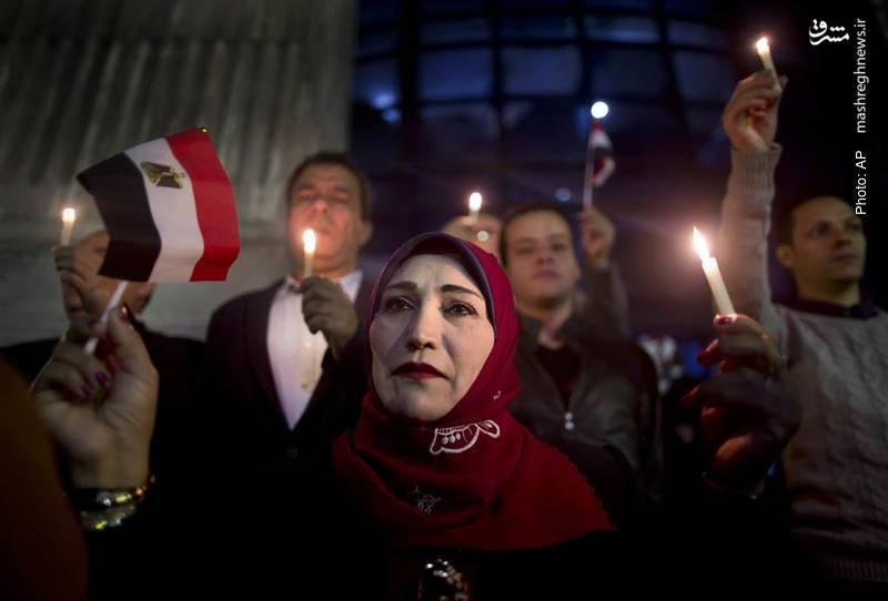 گرامیداشت یاد بیش از 300 قربانی در حمله شبهنظامیان به مسجدی واقع در سینای مصر