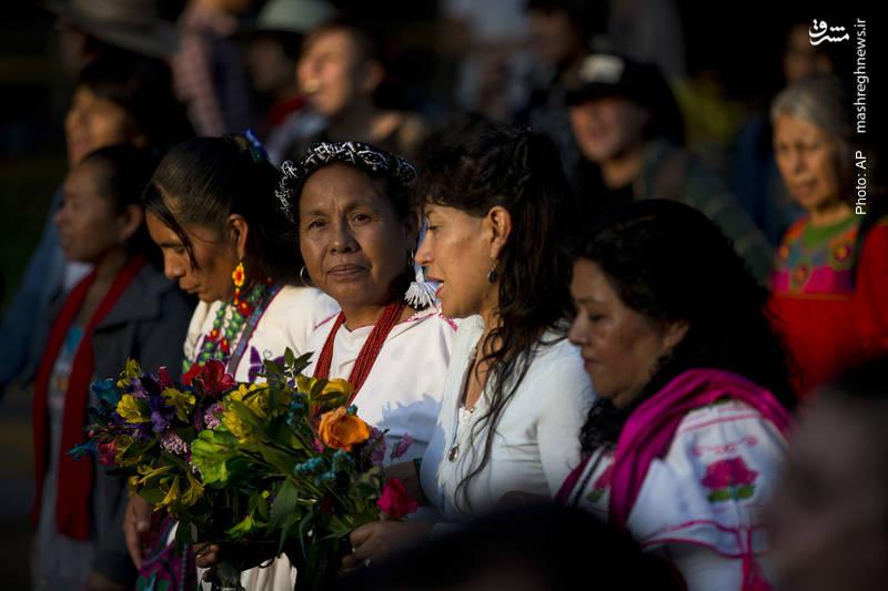 ماریا پاتریسیا مشهور به ماریاچوی، نامزد انتخابات ریاستجمهوری مکزیک از سوی کنگره ملی بومیان است و خیلیها در آن کشور امید دارند که او دستکم در رقابتهای انتخابات بتواند مطالبات بومیان به ویژه رفع فقر را به گوش افکار عمومی و مقامات این کشور برساند.