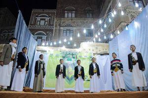 عکس/جشن سالروز ولادت پیامبر (ص) در صنعای قدیم