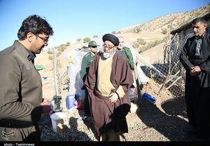 بازدید حجت الاسلام آل هاشم از مناطق زلزله زده