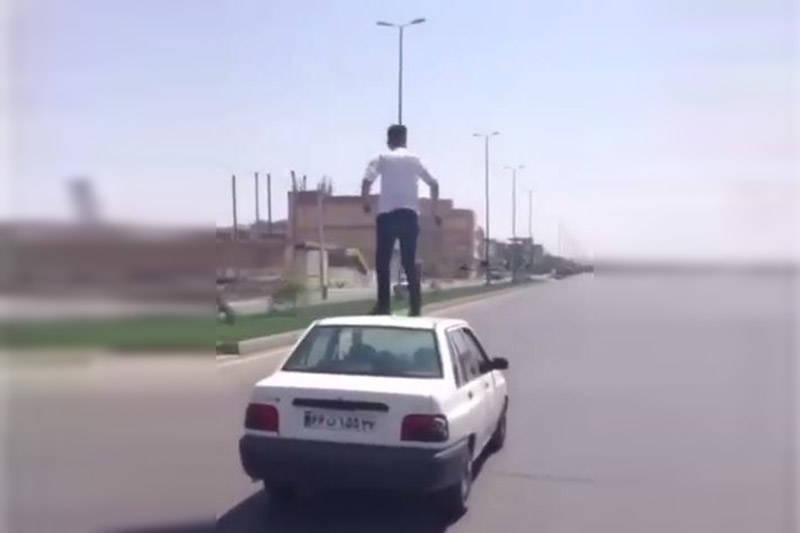 فیلم/ راننده پرایدی که با جان خود بازی میکند