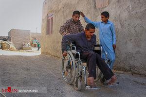 مشکلات معلولان در مناطق محروم