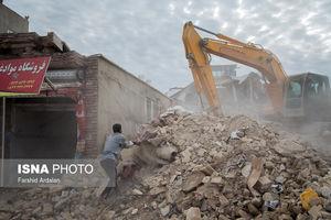 عکس/ آواربرداری مناطق زلزلهزده سر پل ذهاب