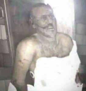 جسد عبدالله صالح در سردخانه