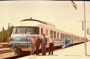 عکس/ اولین قطار مسافری سریع السیر در ایران