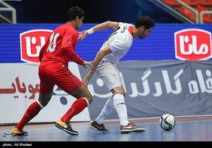 پیروزی ایران مقابل قزاقستان با گل ثانیههای پایانی اسماعیل پور