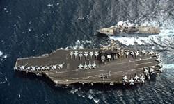 فیلم/ درخواست ناو آمریکایی بهزبانفارسی از هواپیمای ایرانی