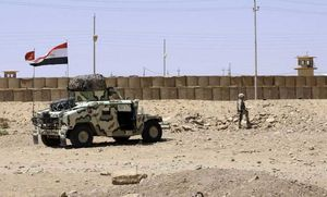 مرز عراق و سوریه