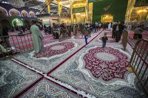 عکس/ فرشهای جدید حرم حضرت عباس(ع)