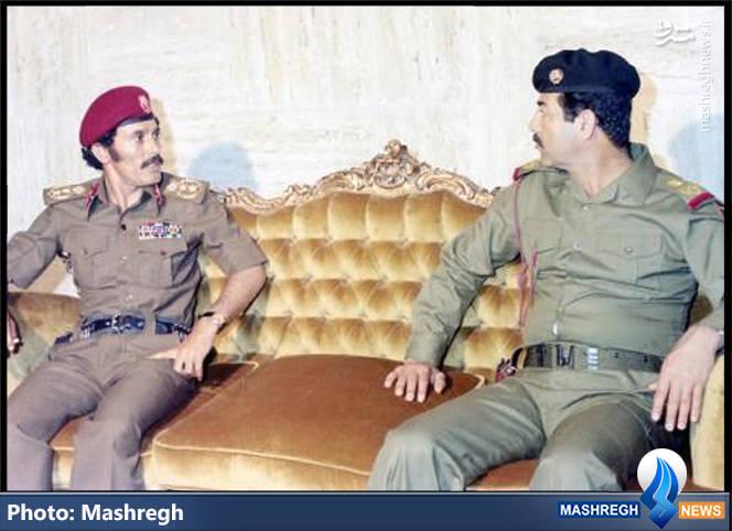 صدام حسین و علی عبدالله صالح