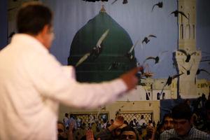 عکس/ هیئت رایهالعباس در شب ۱۷ ربیع الاول