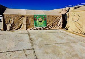ساخت بزرگترین بیمارستان صحرایی کشور توسط سپاه