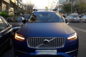 عکس/ شاسی بلند لوکس ولوو در تهران