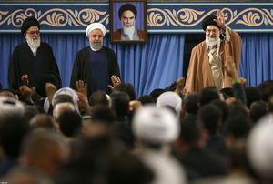 عکس/ دیدار مسئولان نظام و میهمانان کنفرانس وحدت اسلامی با رهبر انقلاب