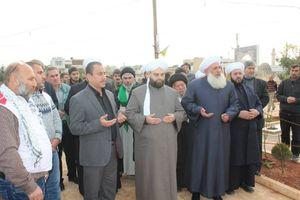عکس/ جشن ولادت پیامبر (ص) در نبل سوریه