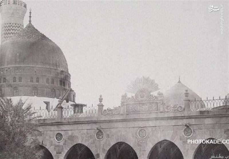 تاریخچه و قدیمیترین عکسهای مسجدالنبی