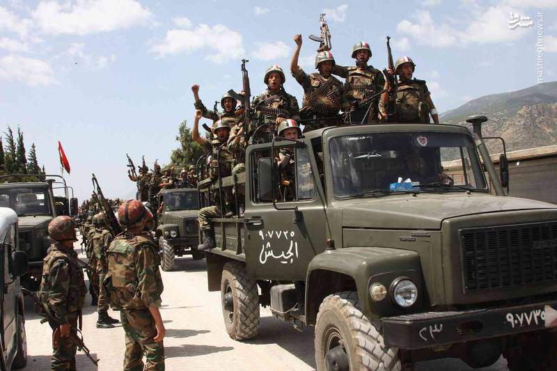 گزارش روز دوم عملیات در شرق استان دیرالزور