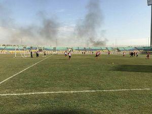 عکس/ آتش سوزی در نزدیکی زمین تمرین پرسپولیس