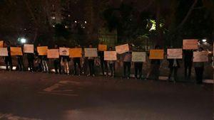 واکنش دانشجویان تهرانی به تصمیم ترامپ درباره قدس