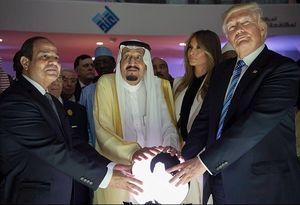 ترامپ ملک سلمان السیسی