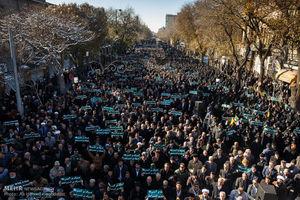 عکس/ راهپیمایی مردم ایران علیه انتقال پایتخت رژیم صهیونیستی به قدس