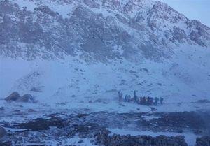 عملیات جستجو برای یافتن کوهنوردان مفقود شده مشهدی متوقف شد