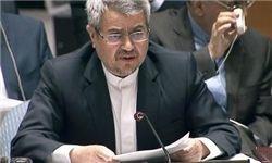 طنزآمیز است کشوری که رئیس دولتش حامی تخریبگران در ایران شده از نمایندهاش خواسته این موضوع را به سازمان ملل بیاورد