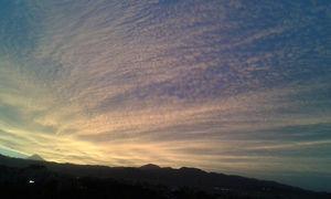 عکس/ قله دماوند هنگام طلوع آفتاب