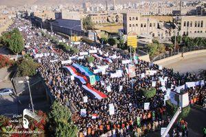 عکس/ قیام مردم یمن علیه تصمیم ترامپ