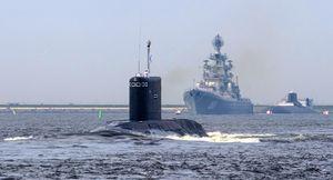 زیردریایی روس در سواحل سوریه