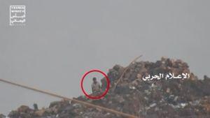 فیلم/ شکار مزدور سعودی توسط تک تیرانداز انصارالله