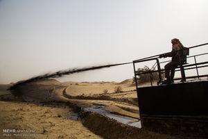 عملیات تثبیت شنزارهای خوزستان