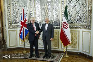 عکس/ دیدار وزرای خارجه ایران و انگلیس