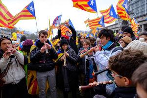 فیلم/ اعتراض به سبک کاتالانها