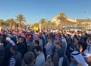 شادی مردم کویت پس از رهایی از بند صدام +فیلم