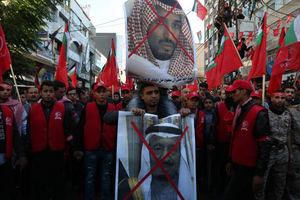 فیلم/ اعلام انزجار فلسطینیان از آلسعود