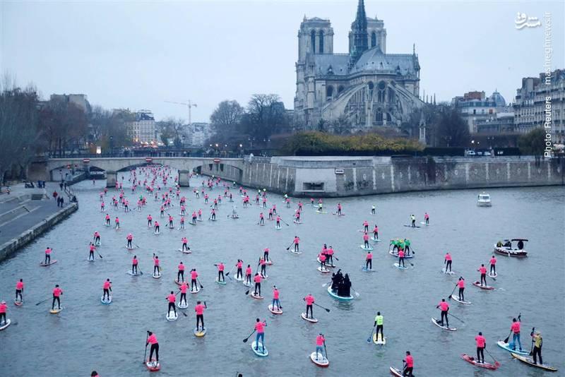 رقابتی غیررسمی در رود سنت، پاریس