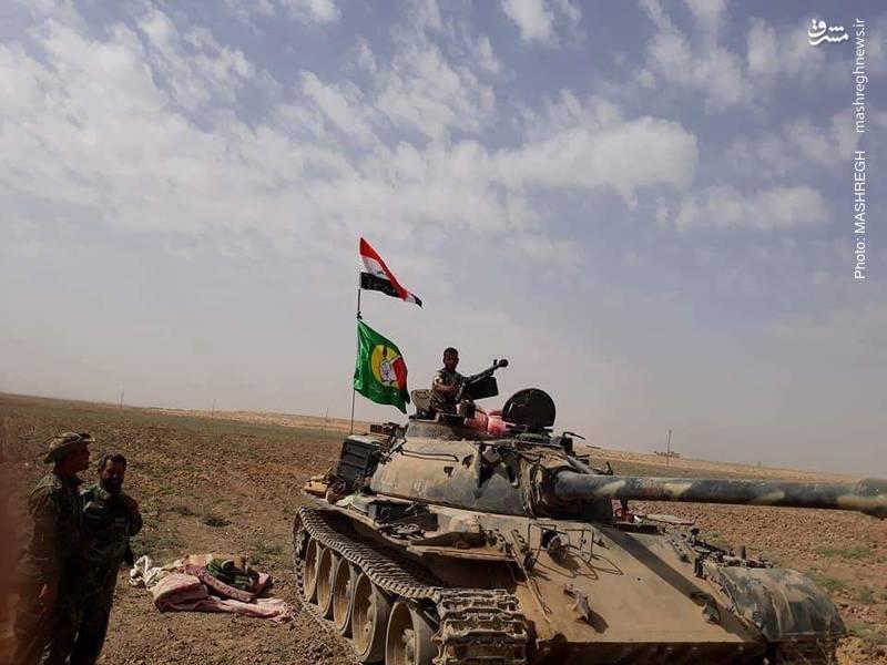 رسیدن نیروهای عراقی به مرز سوریه