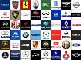 مفهوم علائم اختصاری شرکتهای خودروسازی