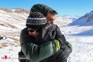 عملیات هلال احمر در جستجوی پیکر کوهنوردان مفقود شده اشترانکوه